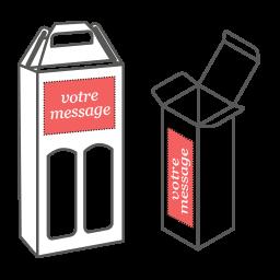 emballage vin personnalisé