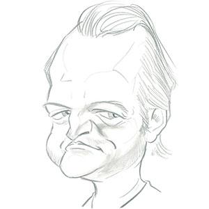 Caricature Stéphane Passedouet par Ⓒ Jean-Marc Borot en 2010